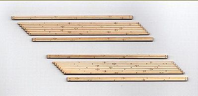 Blair-Line-Signs 2-Lane Left Angled Wood Grade Crossing (2) HO Scale Model Railroad Trackside Accessory #132