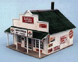 Blair-Line-Signs Blairstown General Store Building Kit HO Scale Model Railroad Building #180