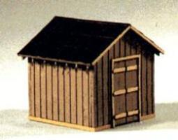 Blair-Line-Signs Coal Storage House Kit HO Scale Model Railroad Building #183