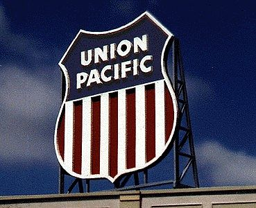 Blair Line Signs Union Pacific Billboard Kit -- HO Scale Model Railroad Billboard Sign -- #2509