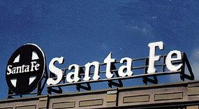 Blair-Line-Signs Santa Fe Billboard Kit HO Scale Model Railroad Billboard Sign #2511