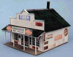 Blair-Line-Signs Blairstown General Store Building Kit N Scale Model Railroad Building #80