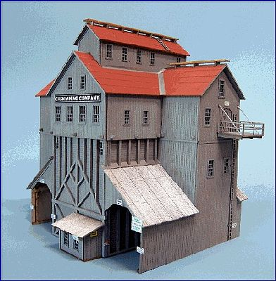 Blair-Line-Signs Cash Mine Works Building Kit N Scale Model Railroad Building #86