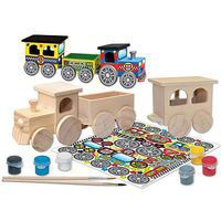 Balitono Train Set Wooden Construction Kit #21417