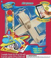 Balitono Airplane Wooden Construction Kit #21421