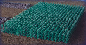 Bluford Summer Cornfield N Scale Model Railroad Grass Earth #101
