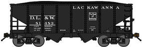 Bluford USRA 306 2-Bay Hopper Delaware, Lackawanna & Western N Scale Model Train Freight Car #60271