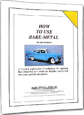 Bare Metal Foil How To Use Bare Metal Booklet