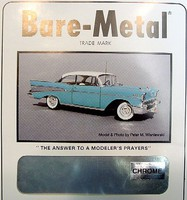 Bare-Metal-Foil 6 x 11 Thin Sheet New Improved Chrome Foil Miscellaneous Hobby Building Supply #1