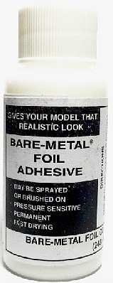 Bare-Metal-Foil Bare Metal Adhesive (1oz Bottle)