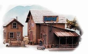 Bar-Mills Oakleaf Shipping & Storage - Kit HO Scale Model Railroad Building #182