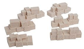 Bar-Mills Wooden Crate Stacks - Unpainted 6 Groupings HO Scale Model Railroad Building Accessory #2009