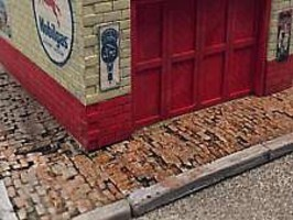 Bar-Mills Weathered Brick Sidewalk 60 Scale Feet Long
