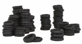 Bar-Mills Tire Stacks HO Scale Model Railroad Building Accessory #210