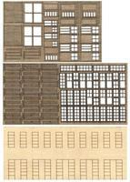 Bar-Mills Modular Structure - Kit (Laser-cut) - The 1-Kit(TM) HO Scale Model Railroad Building #32
