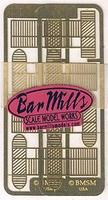 Bar-Mills Lobster Traps pkg(8) (Etched Brass Kit) - For HO & S Scales Model Railroad Scratch Supply #47