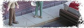 Bar-Mills Sidewalk Kit 100 Scale Feet O Scale Model Railroad Road Accessory #684