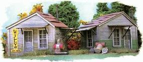 Bar-Mills Twin Utility Sheds - Kit HO Scale Model Railroad Building #702