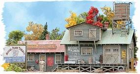Bar-Mills Mooneys Plumbing Emporium - Kit HO Scale Model Railroad Building #822