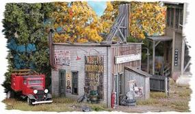 Bar-Mills Rustys Radiator Co. - Kit HO Scale Model Railroad Building #832