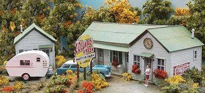 Bar-Mills Collards Creek Motor Park HO Scale Model Railroad Building #872