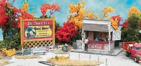 Bar-Mills Swansons Lunch Counter O Scale Model Railroad Building #954