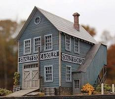 Bar-Mills The Stanley Stove Company HO Scale Model Railroad Building #972