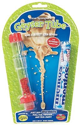 Be Amazing Toys Science Surprises Geyser Tube w/Mentos