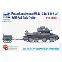 Bronco German Panzerkampfwager Mk IV 774(E) Plastic Model Military Vehicle 1/35 Scale #35030sp