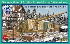 Bronco German 88mm L71 FLAK 41 Plastic Model Artillery Kit 1/35 Scale #35067