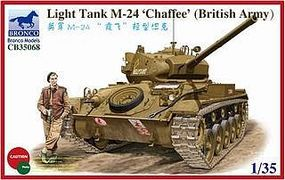 Bronco British Army M-24 Chaffe Plastic Model Tank Kit 1/35 Scale #35068