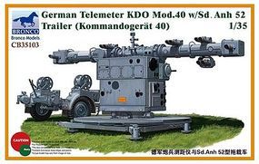 Bronco German Telemeter KDO Mod.40 Plastic Model Artillery Kit 1/35 Scale #35103