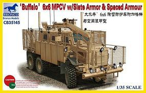 Bronco Buffalo 6Xx MPCV w/Slat Armor Plastic Model Military Vehicle Kit 1/35 Scale #35145