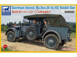 Bronco German Horch Fu.Kw(Kfz.15) Radio Car Plastic Model Military Vehicle Kit 1/35 Scale #35182