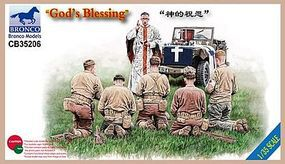 Bronco Gods Blessing (6 Figures Set) Plastic Model Military Figure Kit 1/35 Scale #35206