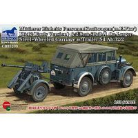 Bronco Mittlerer Einheits PersonenKraftwagen Plastic Model Military Vehicle Kit 1/35 Scale #35209