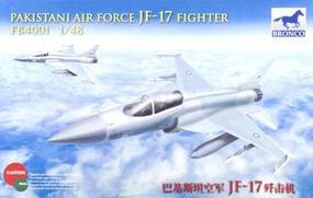 Bronco Chinese/Pakistani JF-17 Fighter Plastic Model Airplane Kit 1/48 Scale #4001