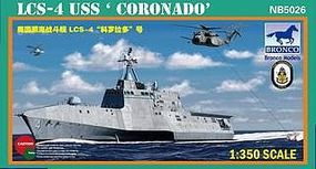 Bronco USS Coronado LCS-4 Plastic Model Combat Ship Kit 1/350 Scale #5026