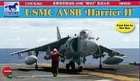 Bronco USMC AV-8B Harrier II Plastic Model Airplane Kit 1/350 Scale #5030
