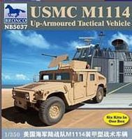 Bronco USMC M114 Armored Tactical Vehicle Plastic Model Military Vehicle Kit 1/35 Scale #5037