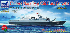 Bronco Chinese Navy Type 056 Class Corvette Plastic Model Military Ship Kit 1/350 Scale #5043
