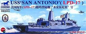 Bronco USS San Antonio LPD-17 Plastic Model Military Ship Kit 1/350 Scale #5051