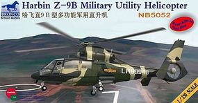 Bronco Harbin Z-9B Military Utility Heli Plastic Model Helicopter Kit 1/350 Scale #5052