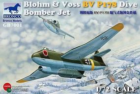 Bronco Blohm & Voss BV P178 Bomber Plastic Model Airplane Kit 1/72 Scale #gb7001