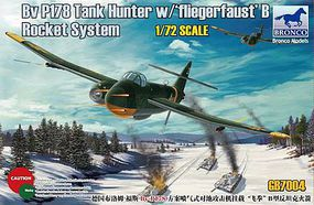 Bronco Blohm & Voss BV P178 Tank Hunter Plastic Model Airplane Kit 1/72 Scale #gb7004