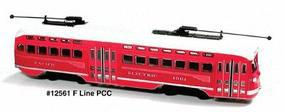 Bowser San Francisco F Line PCC Pacific Electric Railway #1061 HO Scale Model Train Streetcar #12561
