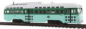 Bowser Post-War PCC Streetcar Executive Line - Los Angeles MTA HO Scale Trolley and Hand Cars #12626