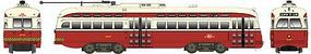 Bowser PCC Street Car Toronto Transportation Commission HO Scale Trolley and Hand Cars #12698