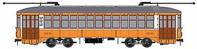 Bowser 2-Truck Streetcar Executive Line Atlantic City #6845 HO Scale Trolley and Hand Cars #12816