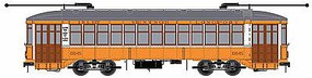 Bowser 2-Truck Streetcar Executive Line - Atlantic City #6845 HO Scale Trolley and Hand Cars #12818